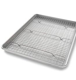 USA Pan Half Sheet with Baking Rack