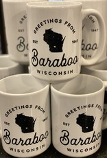 Type League Press Baraboo Mug 11oz