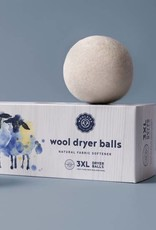 Woolzies: 3 Pure Wool Dryer Balls White