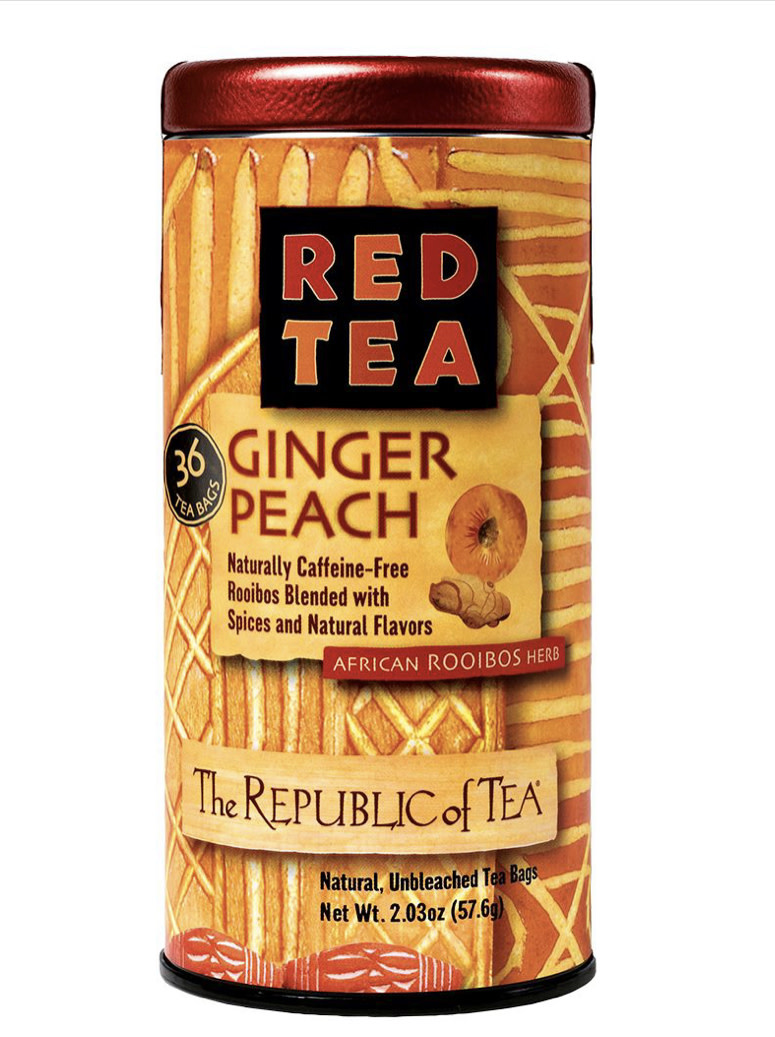 Republic of Tea Ginger Peach Red Bags