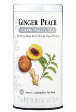 Republic of Tea Ginger Peach White Tea