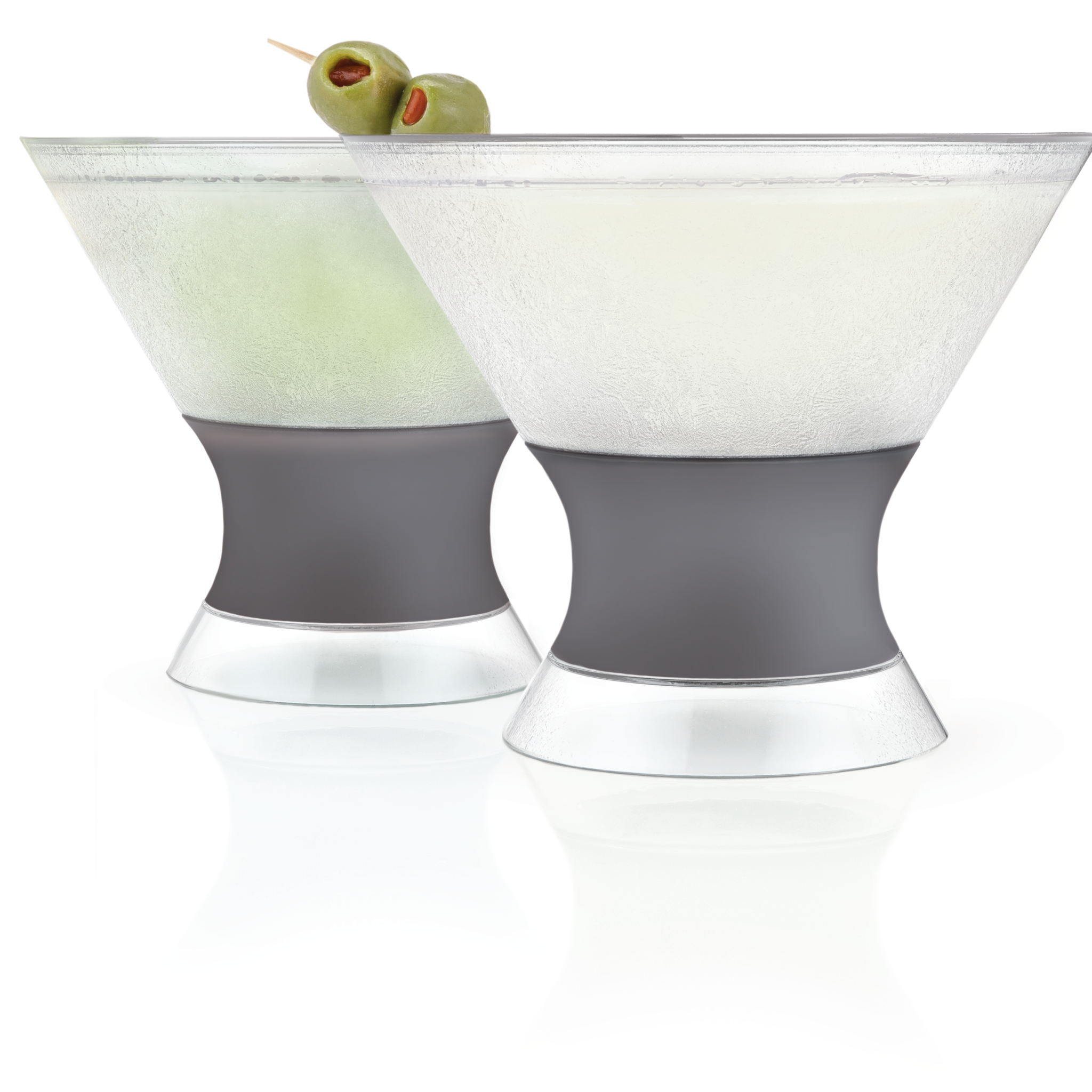 True HOST Freeze Martini Cooling Cups Set of 2
