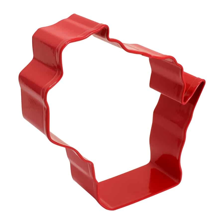 R & M Wisconsin Cookie Cutter Red