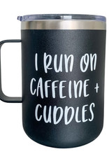 Donuts & Daisies Caffeine and Cuddles Travel Mug