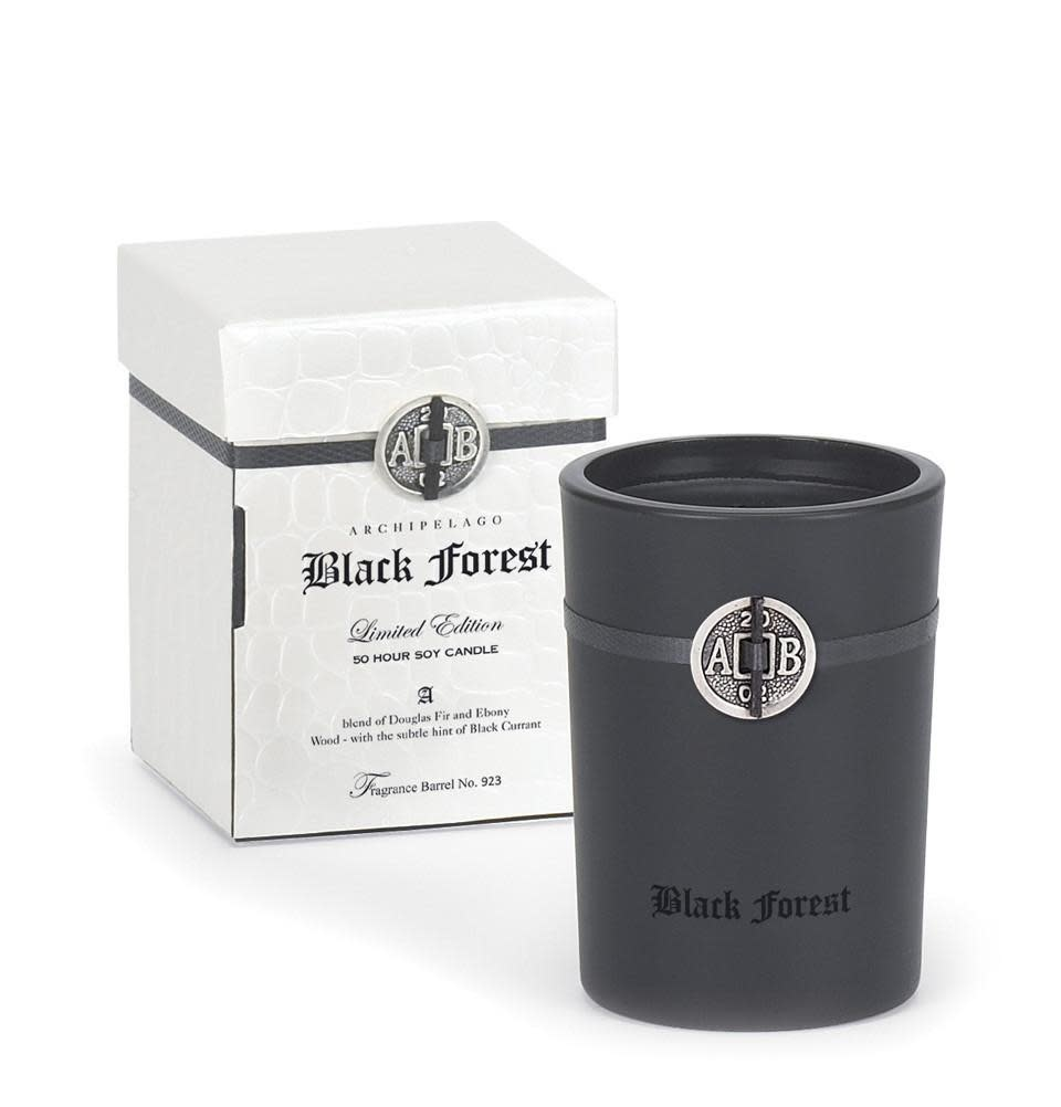 Archipelago Black Forest Boxed Candle