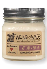 Wicks for Wags 8oz Soy Candle