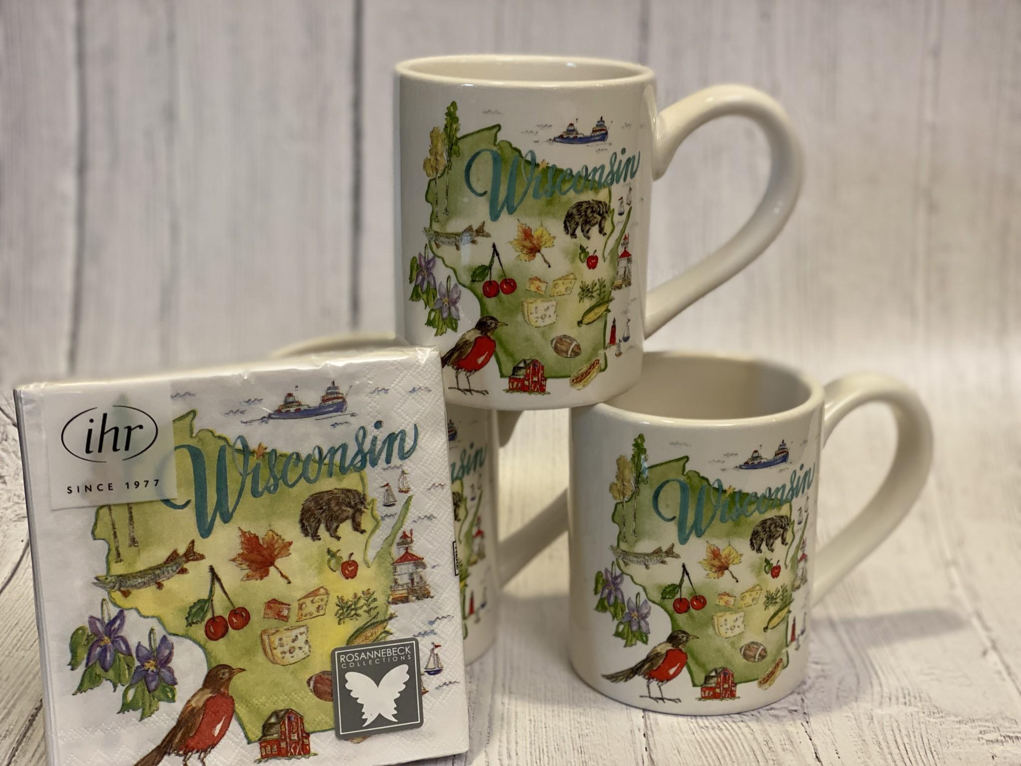 Boston Int WI State Collection Mug