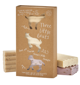 Simply Be Well Three Little Goats Gift Set
