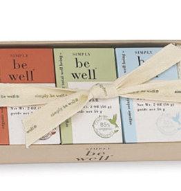 Simply Be Well Warm Bar Soap Sampler Set