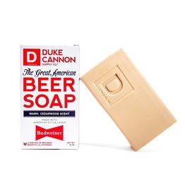 Duke Cannon Great American Beer Soap Budweiser