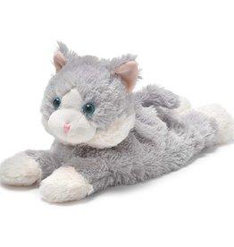 Warmies Laying Down Gray Cat