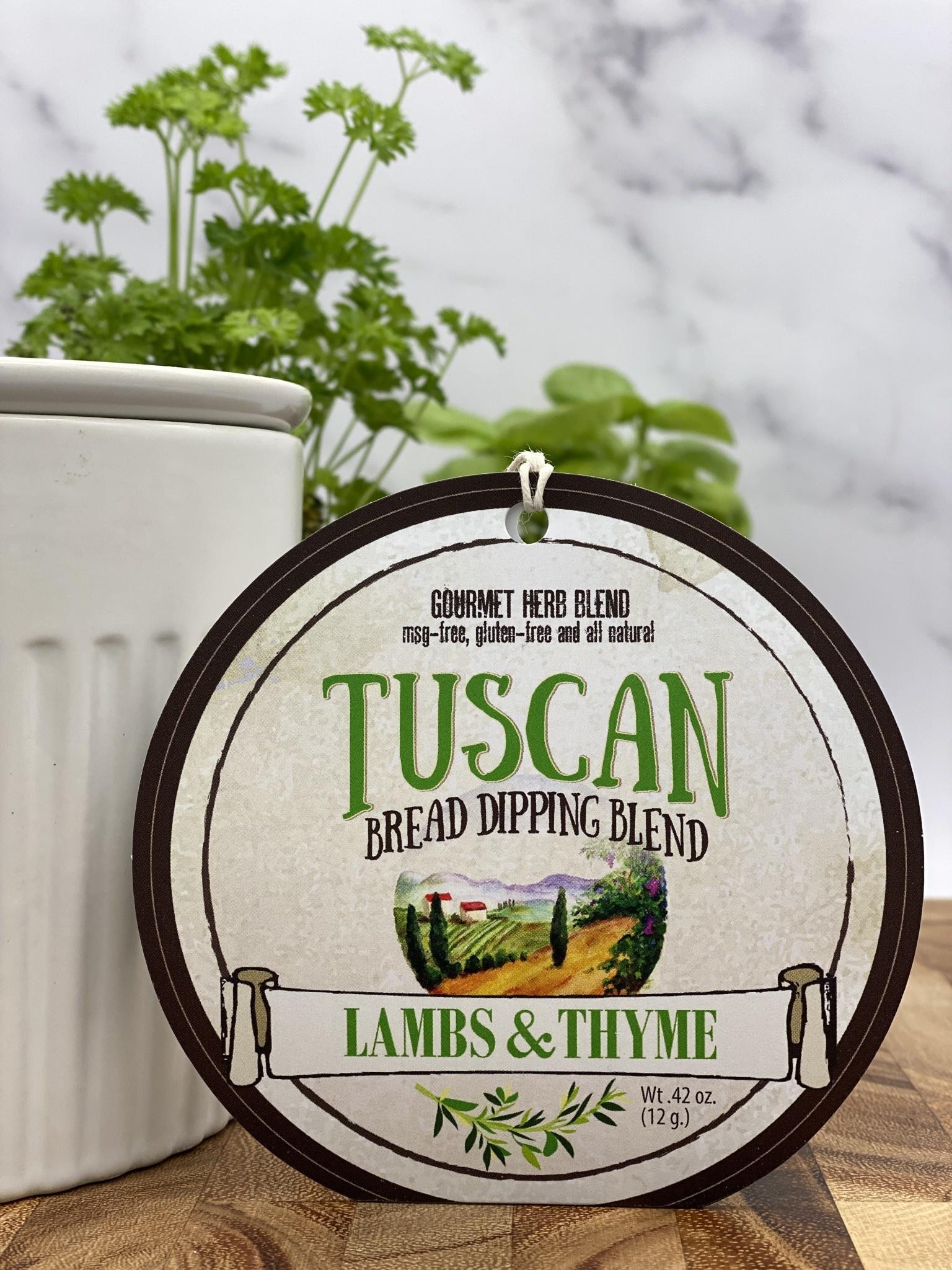 Lambs & Thyme Bread Dips Tuscan
