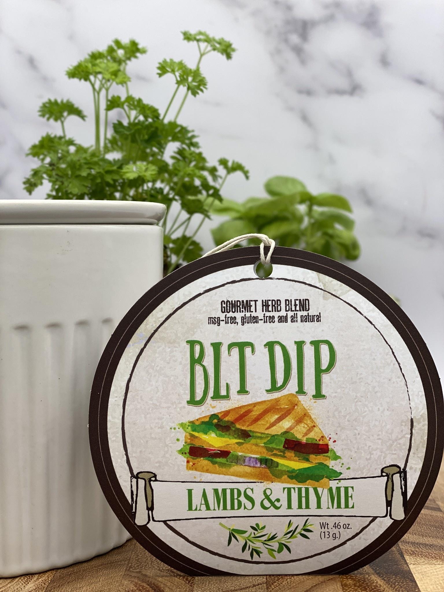 Lambs & Thyme Herb Dips BLT