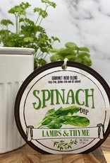 Lambs & Thyme Herb Dips Spinach
