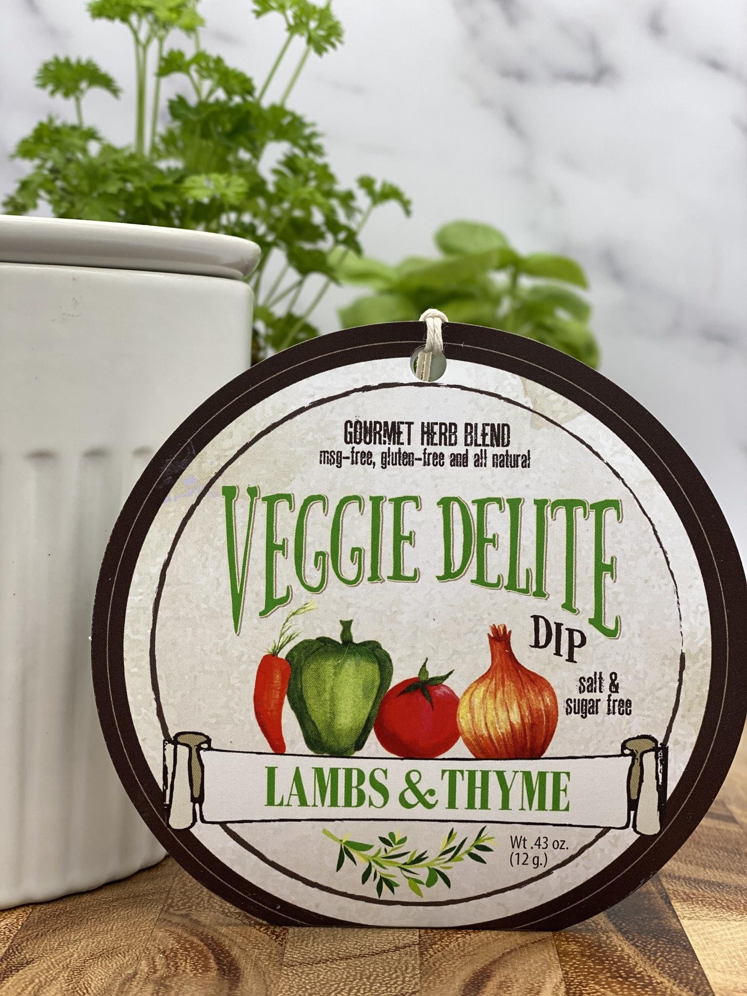 Lambs & Thyme Herb Dips Veggie Delite