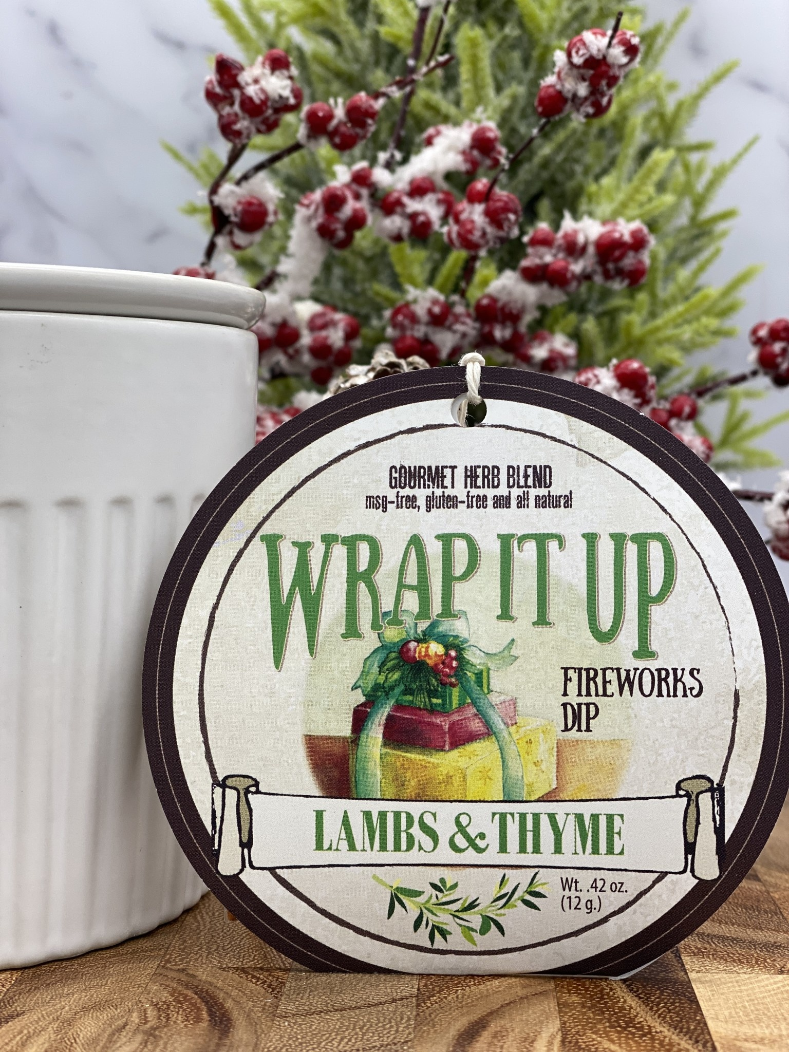 Lambs & Thyme Holiday Dips Wrap It Up