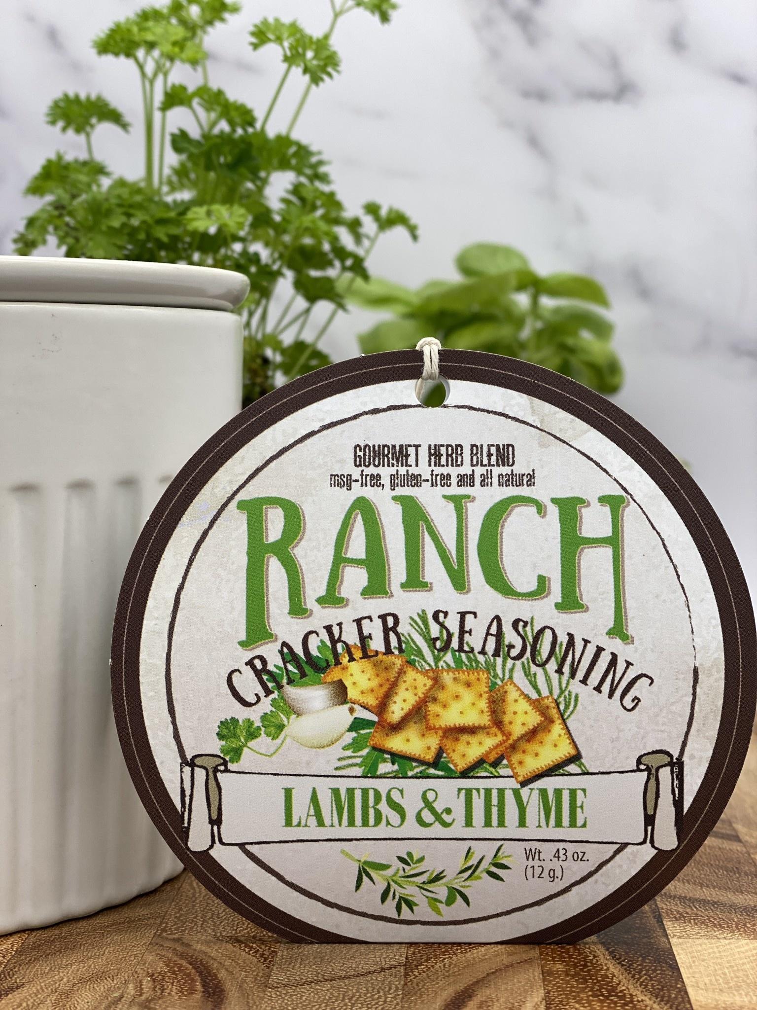 Lambs & Thyme Ranch Cracker Seasoning