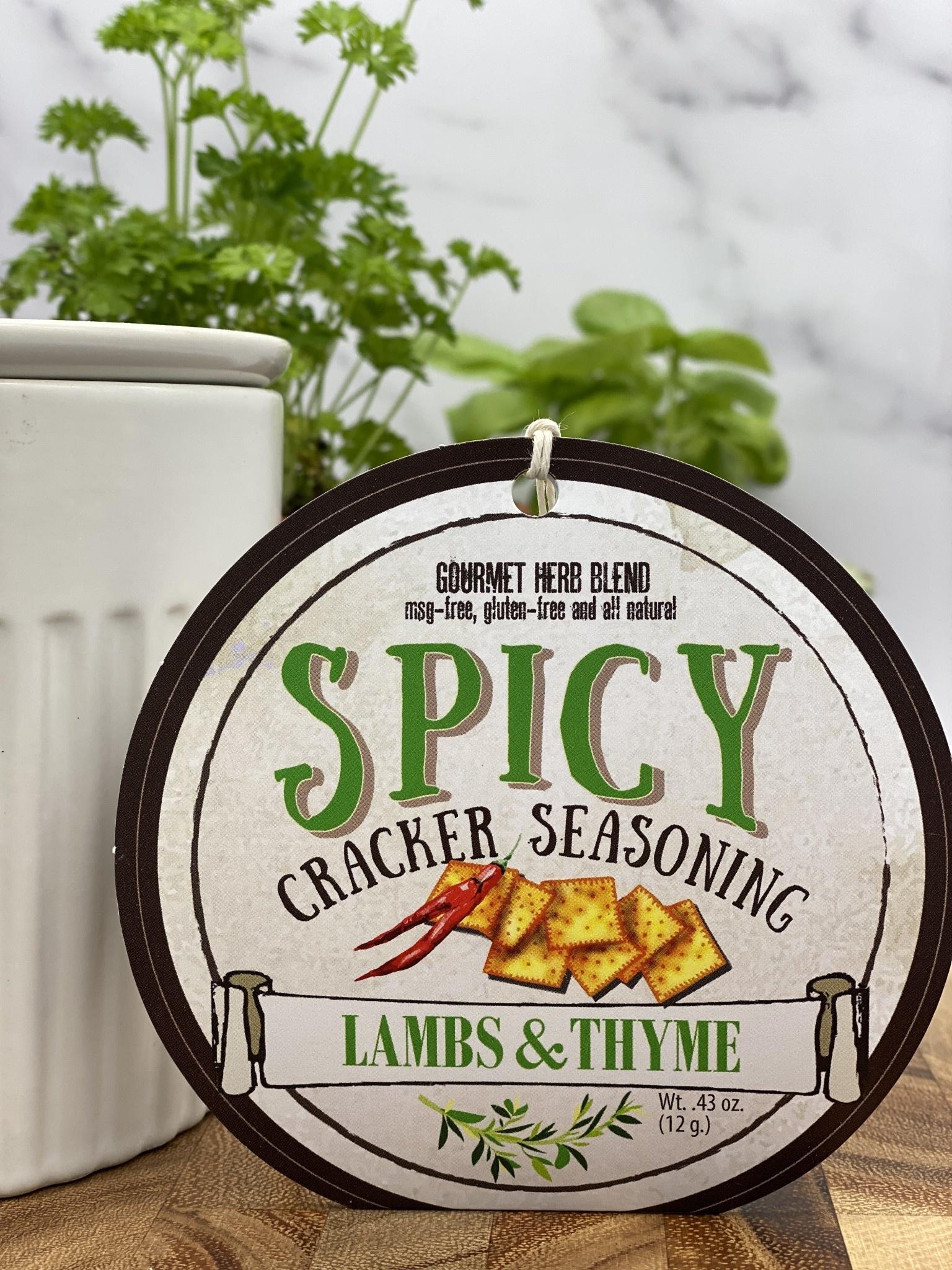 Lambs & Thyme Spicy Cracker Seasoning
