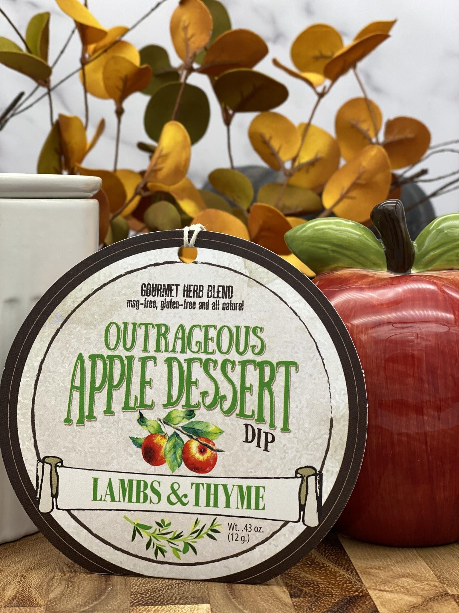 Lambs & Thyme Sweeter Dips Apple