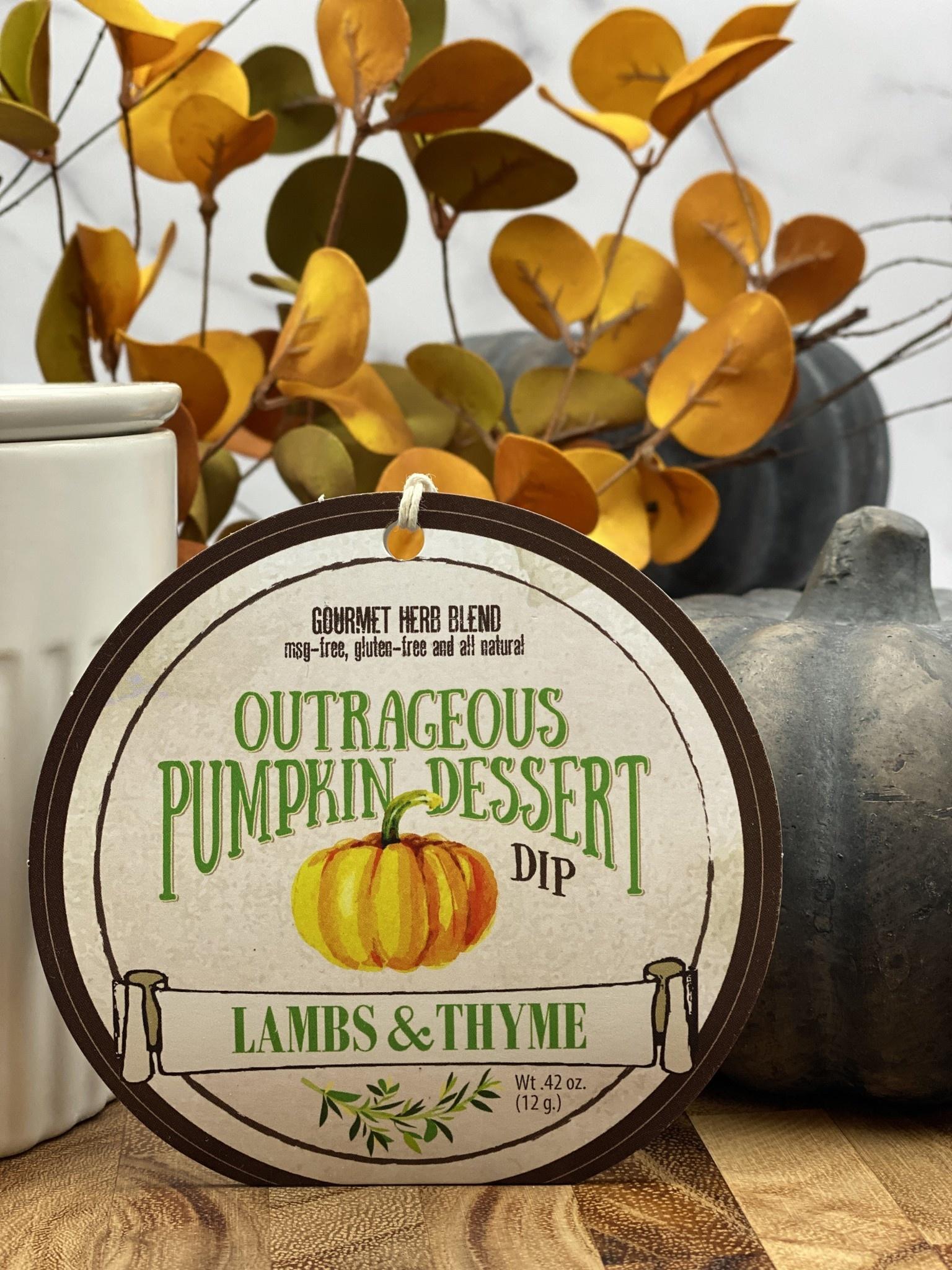 Lambs & Thyme Sweeter Dips Pumpkin