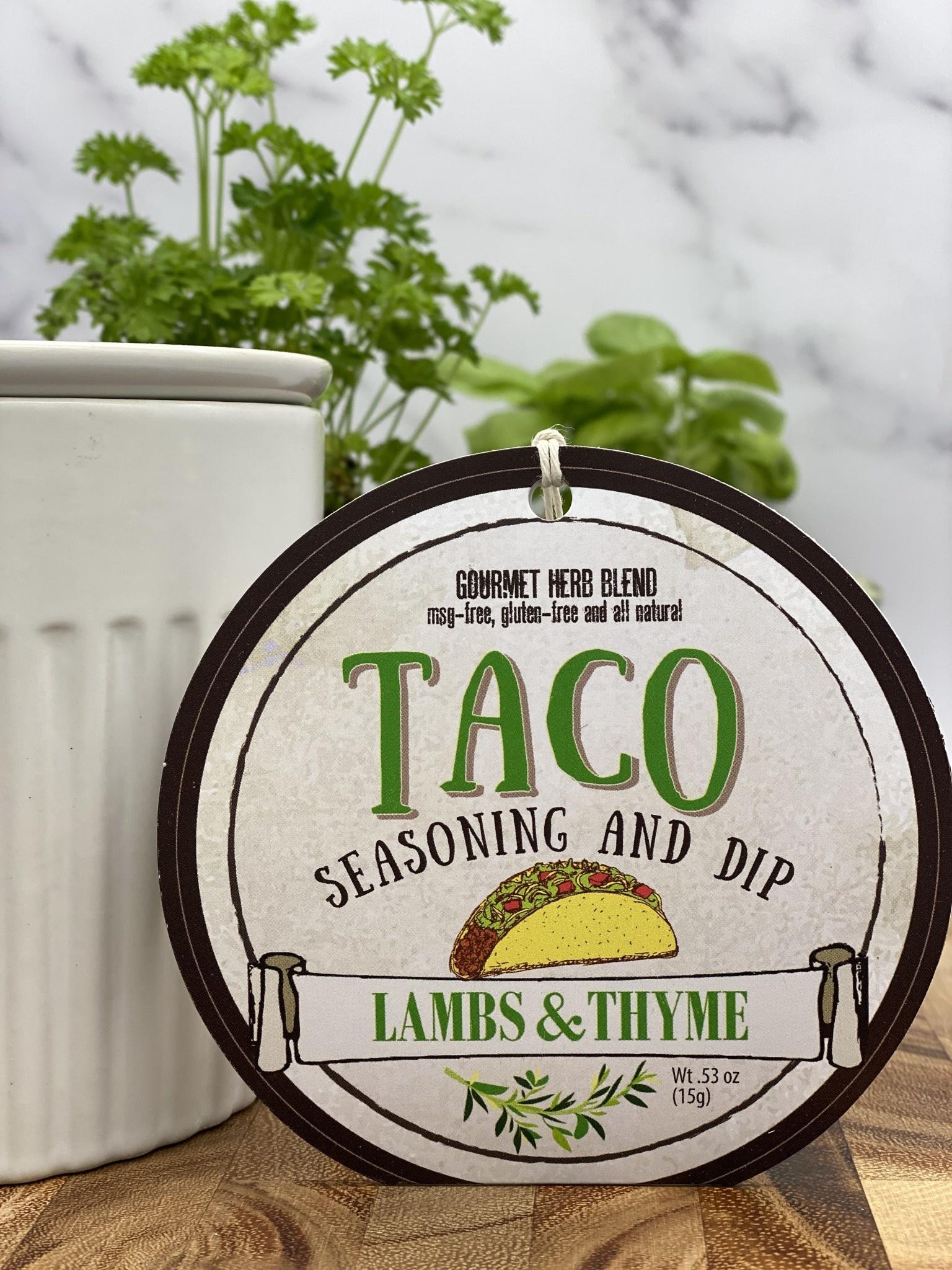 Lambs & Thyme Taco Dip