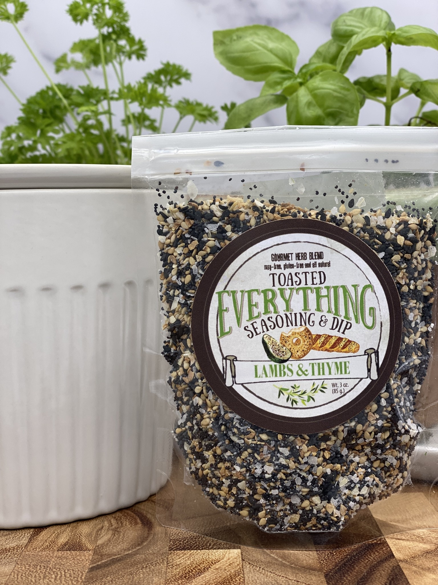 Lambs & Thyme Everything Seasoning and Dip
