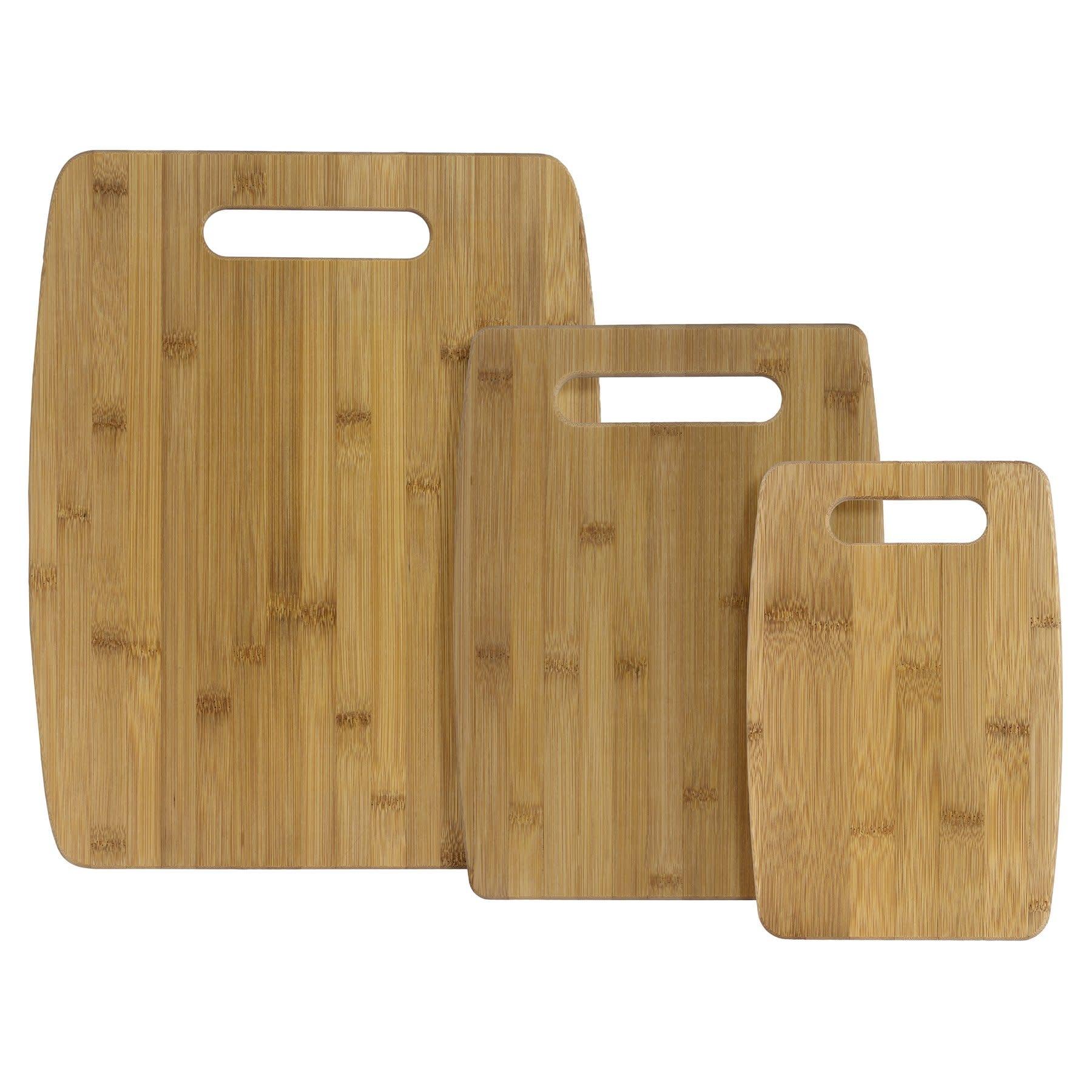 Totally Bamboo 3pc Bamboo Cutting Board Set