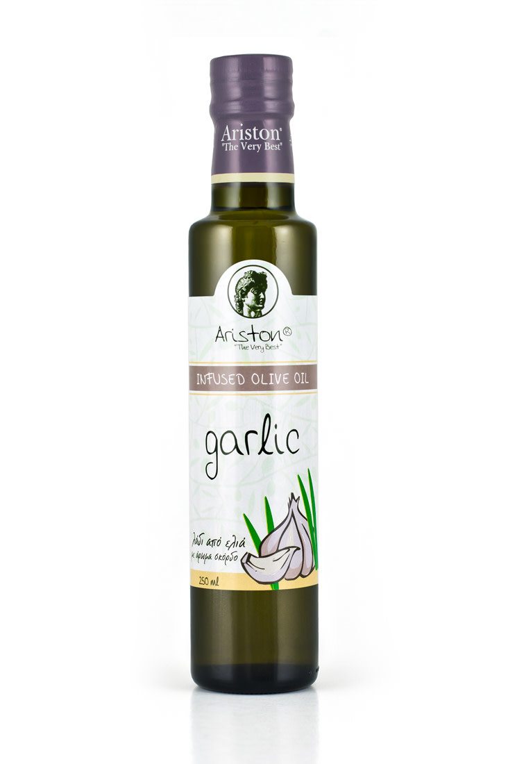 Ariston Garlic Oil Bottle - New Full