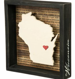 Primitives Box Sign Wisconsin (Disc)