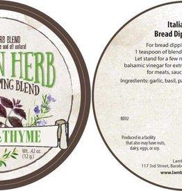 Lambs & Thyme Bread Dips Italian Herb