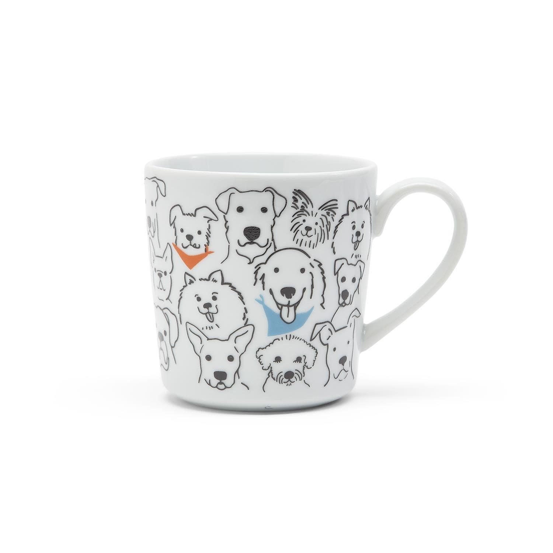 """Two Co """"Dog Loves Me Best"""" Mug"""