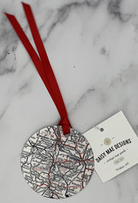Daisy Mae Custom Map Ornament