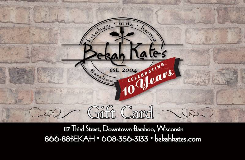 Bekah Kate's Gift Card $125