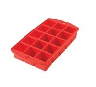 Fox Run Tulz Mini Ice Block Tray Ruby