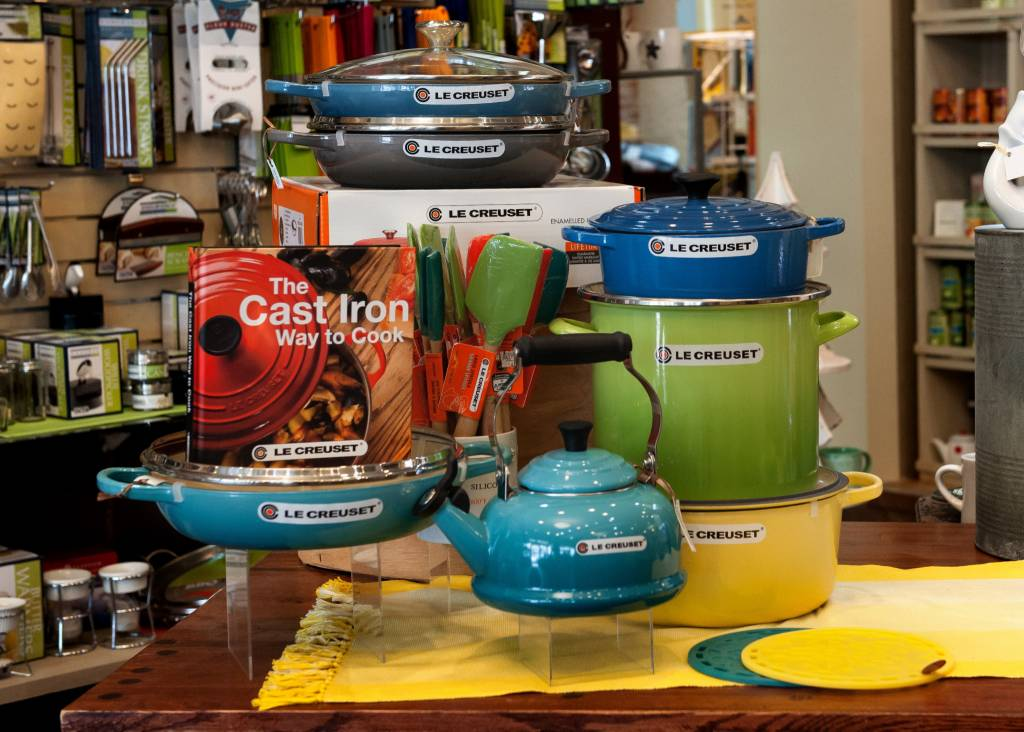 Cooking with Le Creuset Cooking Class 6/26/19
