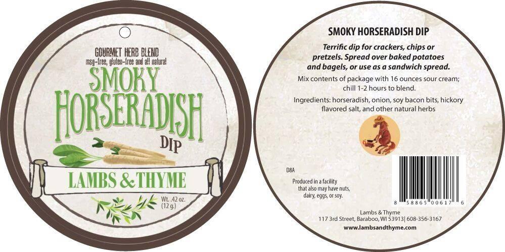 Lambs & Thyme Herb Dips Smoky Horseradish
