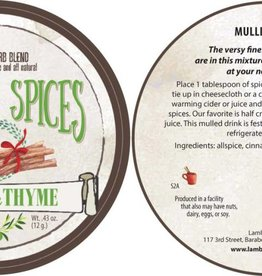 Lambs & Thyme Mulling Spices