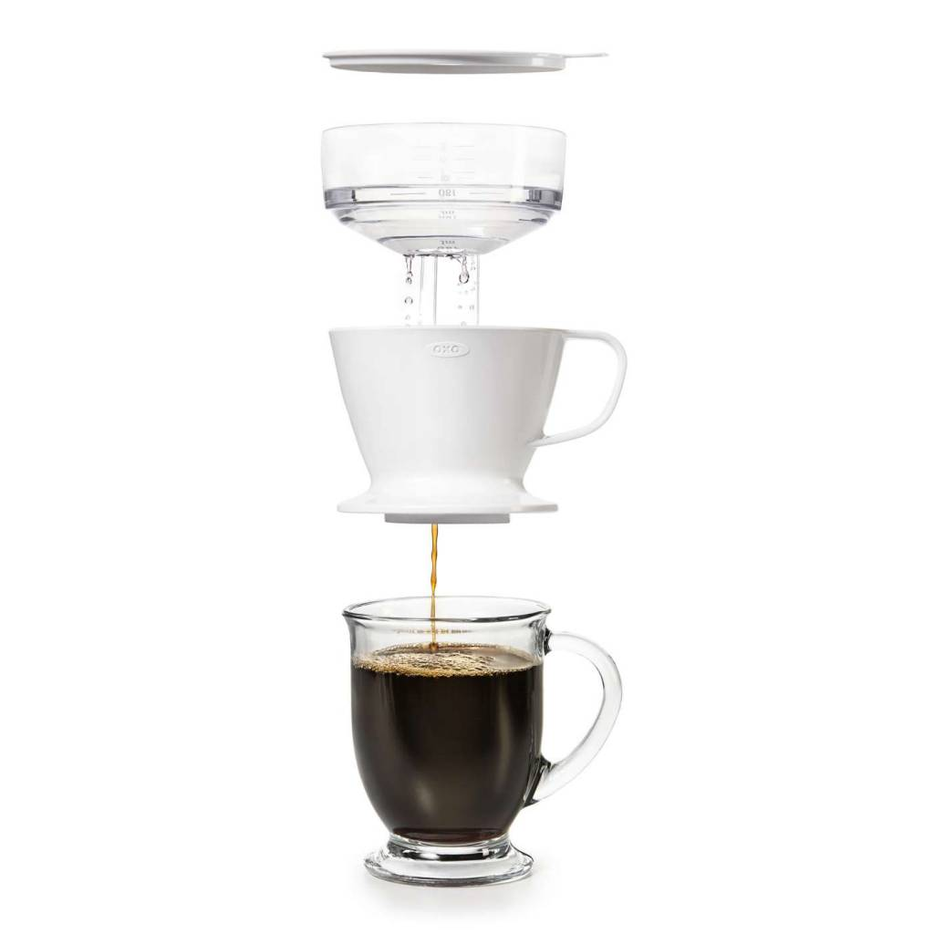 Oxo Pour Over Coffee Maker With Water Tank-(Shoptiques)