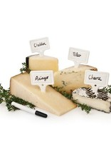 True Country Cottage ceramic Cheese Markers by Twine