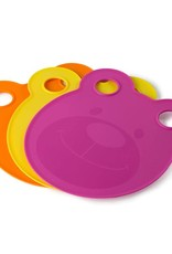 Architec Kids Cutting Boards Plates-Pink