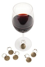 True Chateau Gold Wine Charms