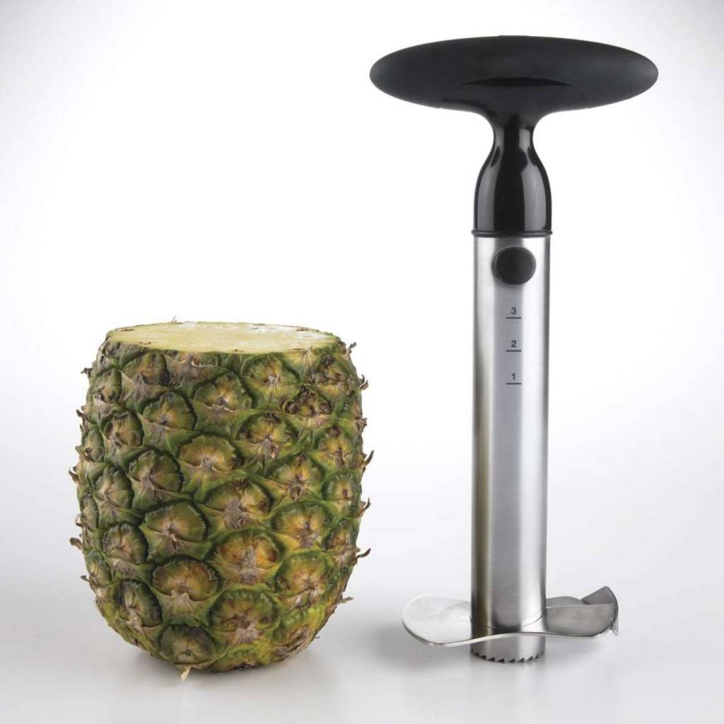 OXO GG SS Ratcheting Pineapple Slicer