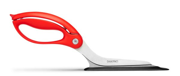 Dreamfarm Scizza Pizza Cutter Fire Truck Red