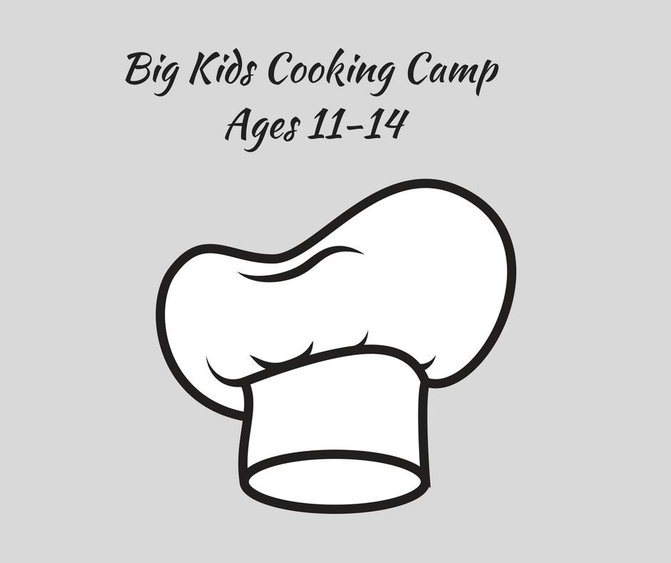 Big Kids Cooking Class
