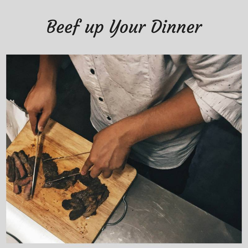 Beef Up Your Dinner Cooking Class 12/13/18