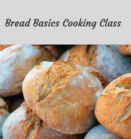 Bread Basics Cooking Class 4/4/19