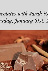 Chocolates Cooking Class 1/31/19