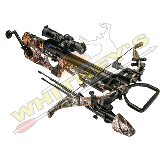 Excalibur Excalibur Assassin 420 TD Realtree Edge Camo Crossbow Package With Free Rangefinder and Trail Camera