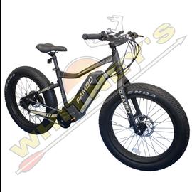 "Alliance/Rambo Bikes Rambo 750W Matte Black& Tan W/ 24"" Tire-Open Box Ryder"