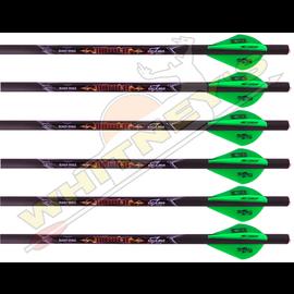 """Excalibur Excalibur C2 Easton Carbon Diablo Crossbow Xbow Bolt 18"""" 6 PK"""